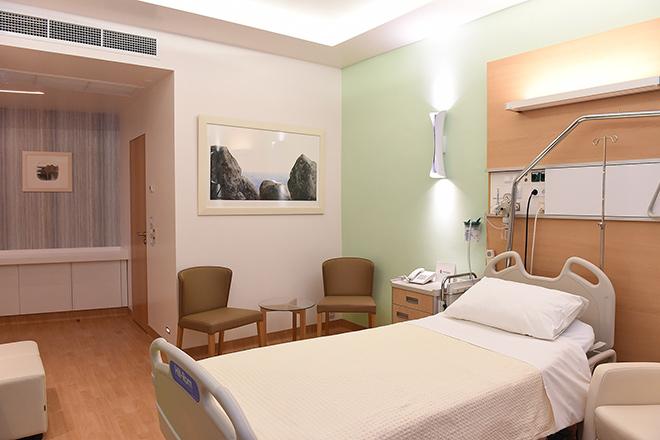 Ευρωκλινική Αθηνών - Δωμάτιο Νοσηλείας